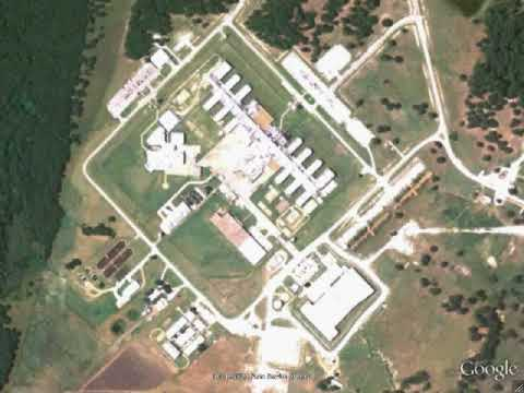 Map Of Texas Prisons.Estelle Unit Prison Huntsville Tx Google Earth Youtube