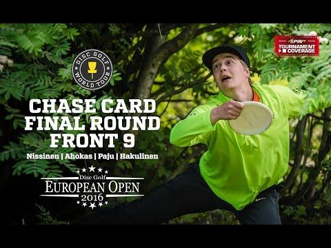 DGWT EO2016 Round 3 - Chase Card, Front 9 (Nissinen, Ahokas, Paju, Hakulinen)