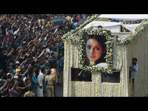 How Sridevi's death has left India in a state of mourning and denial