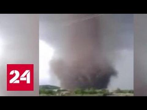 По Омской области прошелся торнадо