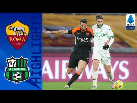 AS Roma Sassuolo Goals And Highlights