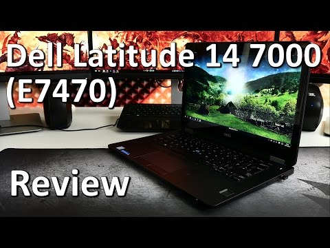 Dell Latitude 14 7000 (E7470) Review | serious business!