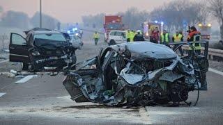 Tod im Nebel (komplette Reportage 1080p) - Sehr schwerer Verkehrsunfall am 19.10.1990