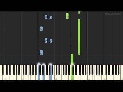 Verdi - La Forza Del Destino Ouverture (Stella Artois Ad) (Piano Tutorial) [Synthesia]