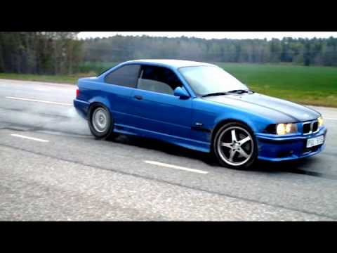 swedish bmw e36 turbo m3 with 960hk pulls it off youtube. Black Bedroom Furniture Sets. Home Design Ideas