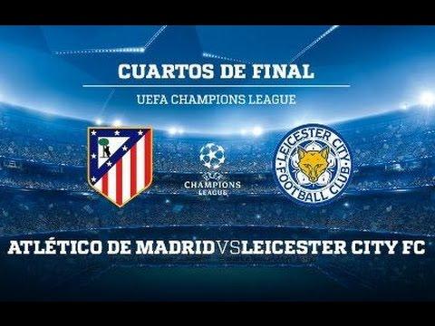 UEFA Champions League - Atletico Madrid vs Leicester City - PES 2017 ...