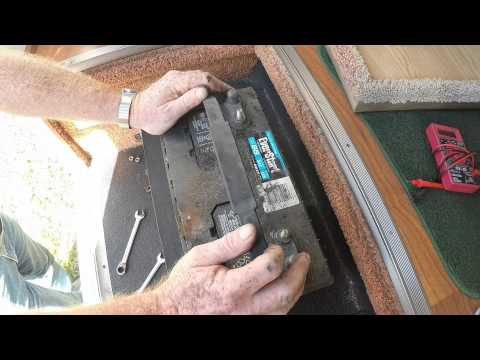 One12 Volt Battery To Two 6 Volt Battery Conversion Part 1