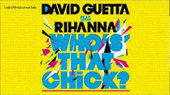 David Guetta - Who's That Chick? (REAL Official Instrumental) HQ