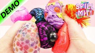 Große Anti-Stress-Ball Sammlung: Glibber, Orbeez, Schleim, Mash Ball, Zombie