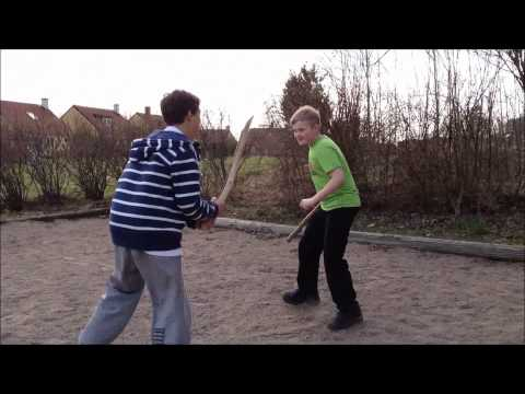 The Fight with Sticks (swedish)