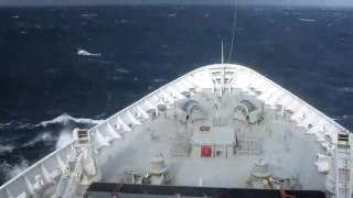 Wave Hits Louis Majesty Cruise Ship