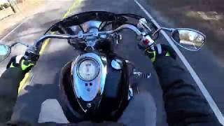 Yamaha roadstar review and motovlog!
