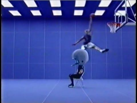 49bdadff259102 Nike Shox BB4 Commercial  Vince Carter vs. Giant Football Helmet ...
