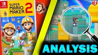 Everything YOU Might Have MISSED In The Super Mario MAKER 2 Trailer! (Analysis)