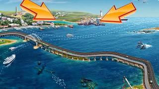 Крымский мост с высоты птичьего полета