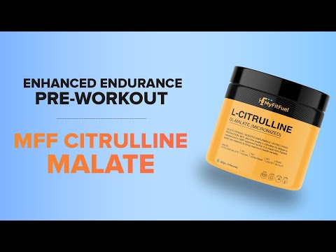 MFF Citrulline Malate | Enhances Muscle Growth | Pre-Workout Amino Acid