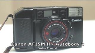 Компанія Canon AF35M II в / автосправа 2 Відео інструкція