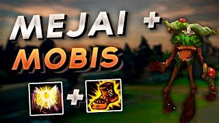 IVERN OP BUILD - THE POWER OF MEJAI'S AND MOBIS!!! RANKED JUNGLE GAMEPLAY (HIGHLIGHTS)