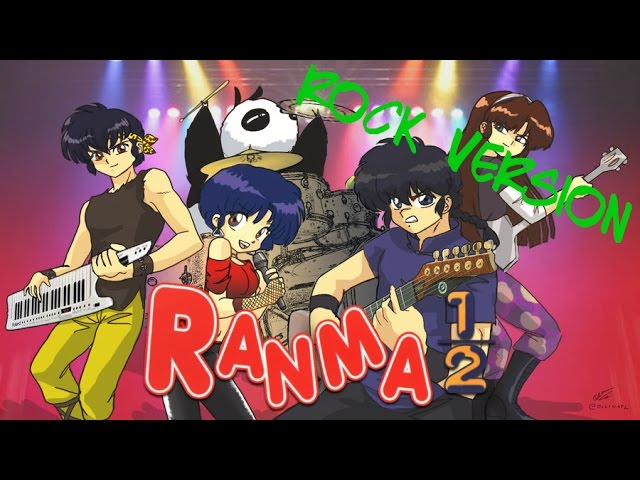 Ranma 1/2 Italian Rock Version (Cover)