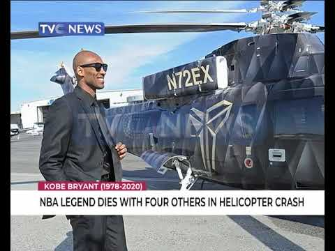 NBA legend, Kobe Bryant dies in Helicopter crash