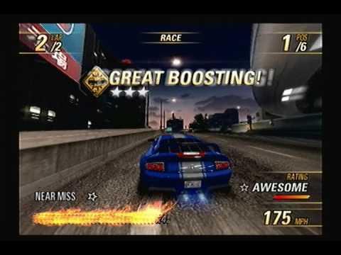 Burnout Revenge: Rank 6 - Eastern Bay: Crashbreaker Race - Lower Link  Reverse (Perfect Rating)