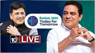 BioAsia Summit 2020 | Central Minister Piyush Goyal andamp; State Minister KTR  News