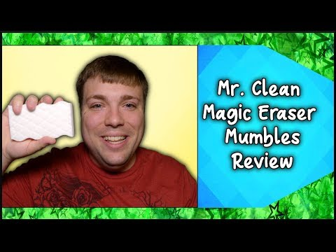 The Ultimate Cleaner? - Mr. Clean Magic Eraser - MumblesVideos Product Review
