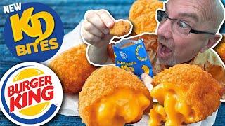 KD Bites & Philly Cheese King at ?? Burger King