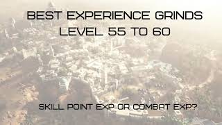 Black Desert Online Xbox One | Best Exp Grind Spots 55 to 60 | Skill and Combat EXP