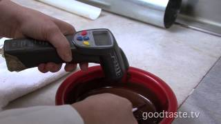 Goodtaste.tv - How To Temper Chocolate (step By Step)!