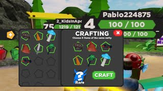 (ROBLOX) CRAFTING in Treasure Quest Simulator is it worth giving up 6 of your Common Items