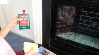 How To Make Your Fireplace Slate Surround & Hearth Shine Like New Again.
