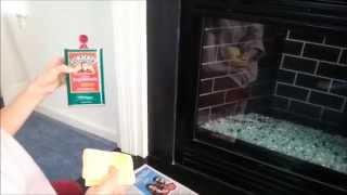 How To Make Your Fireplace Slate Surround & Hearth Shine Like New Again.