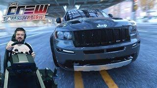 Выиграл Bentley на Jeep Grand Cherokee SRT и навалил в Нью-Йорке - The Crew + Fanatec CSL Elite PS4