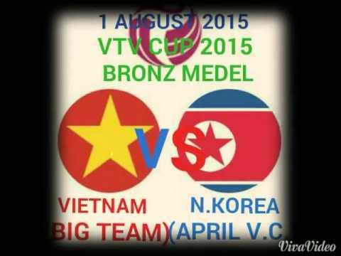 ลิงค์ดูวอลเลย์บอลชิงที่3 เวียดนามVเกาหลีเหนือ VTV