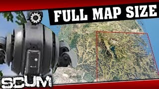 SCUM - Why Drones Exist, WHOLE MAP PREVIEW, Hidden Stash, Solo PvP and more