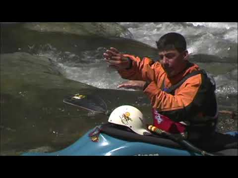 EJ's Whitewater Kayak Instruction- How To Paddle Through Waves