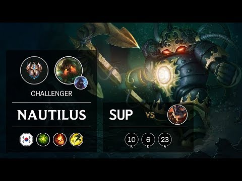 Nautilus Support vs Rumble - KR Challenger Patch 10.2