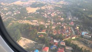 landing sepinggan airport balikpapan 25/09/2014