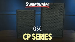 QSC CP Series Powered Speaker Review