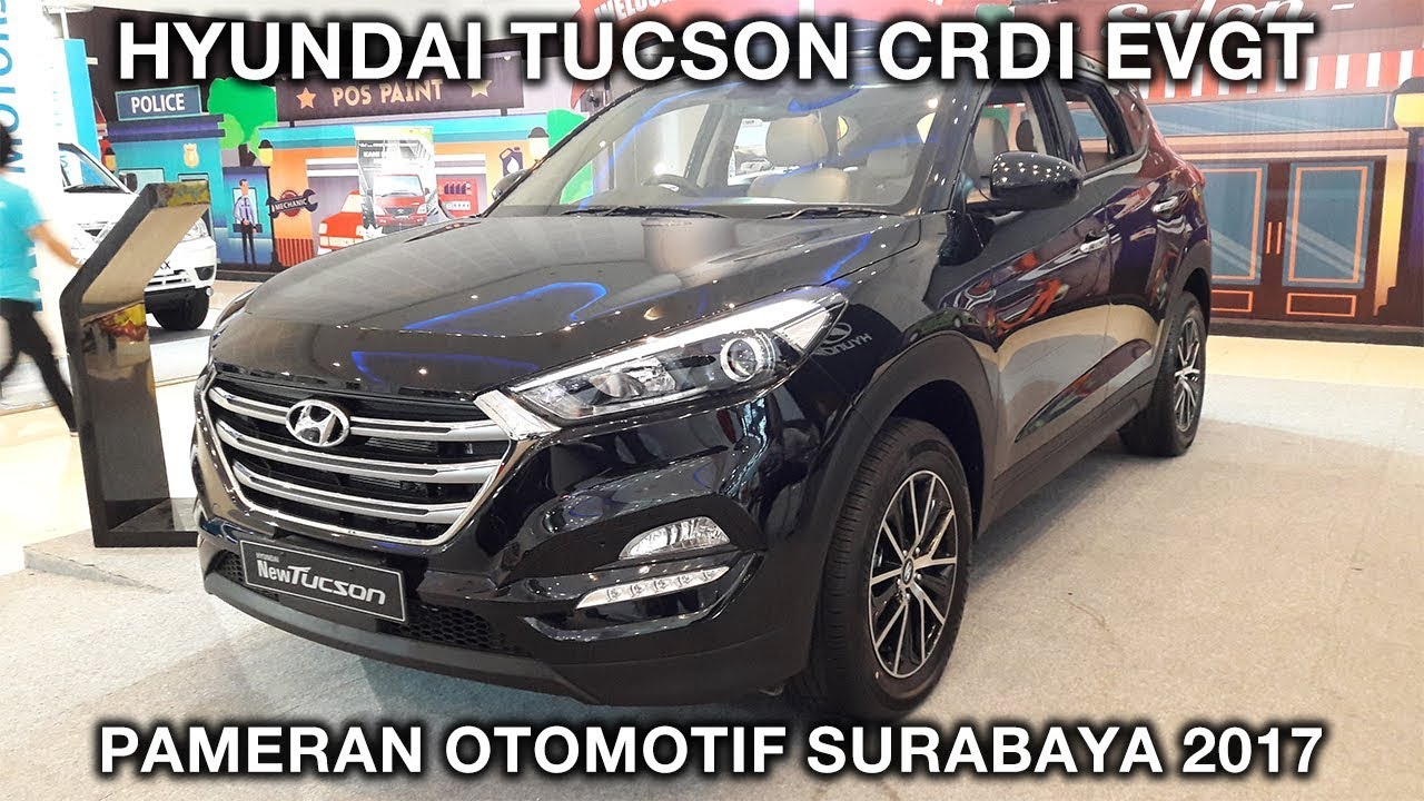 Hyundai Tucson Xg Crdi Evgt 2017 Exterior And Interior Pameran