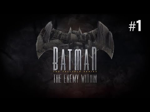 Twitch Livestream | Batman: The Enemy Within Episode 1 [Xbox One]