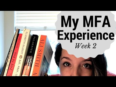 My MFA Experience Vlog Week 2 - tattoos, books, assignments, and cats!