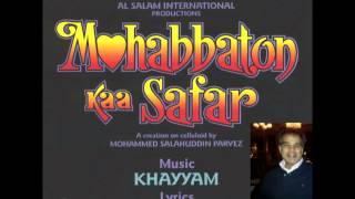 Mohabbaton Kaa Safar (Duet)