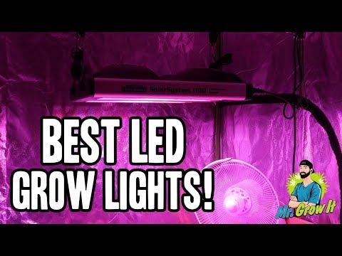 BEST LED GROW LIGHTS ON AMAZON 2018! - TOP INDOOR GROW LIGHTS