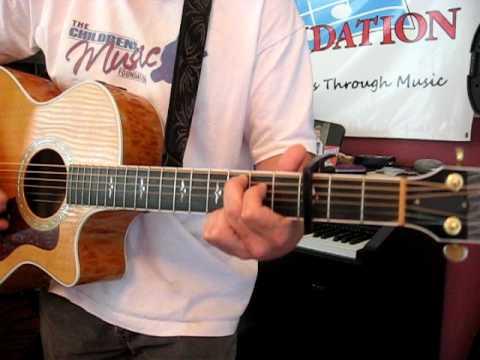 Man to Man - Gary Allen    guitar lesson