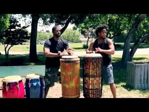Congo + Haiti | Kiazi & Jeff / Crazy Congolese & Haitian Drumming