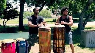 Congo + Haiti | Kiazi & Jeff / Crazy Congolese & Haitian Drumm…