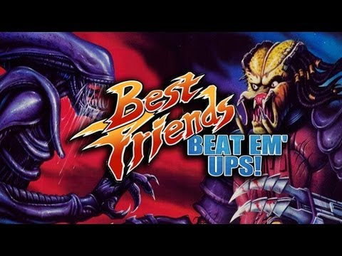 Best Friends Beat 'Em Ups - Alien vs Predator