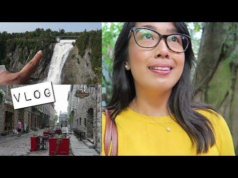 vlog | montreal & quebec road trip